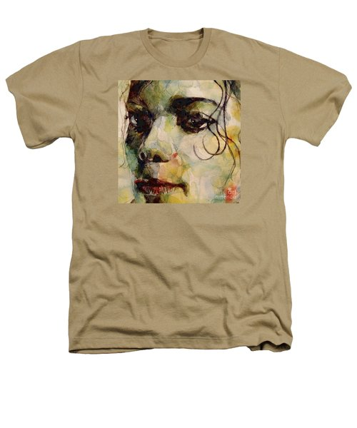 Man In The Mirror Heathers T-Shirt by Paul Lovering