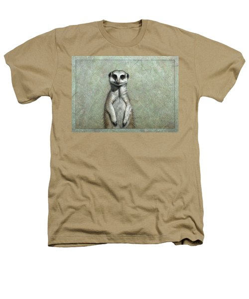 Meerkat Heathers T-Shirt by James W Johnson