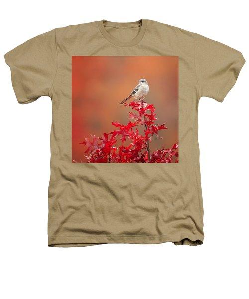Mockingbird Autumn Square Heathers T-Shirt by Bill Wakeley