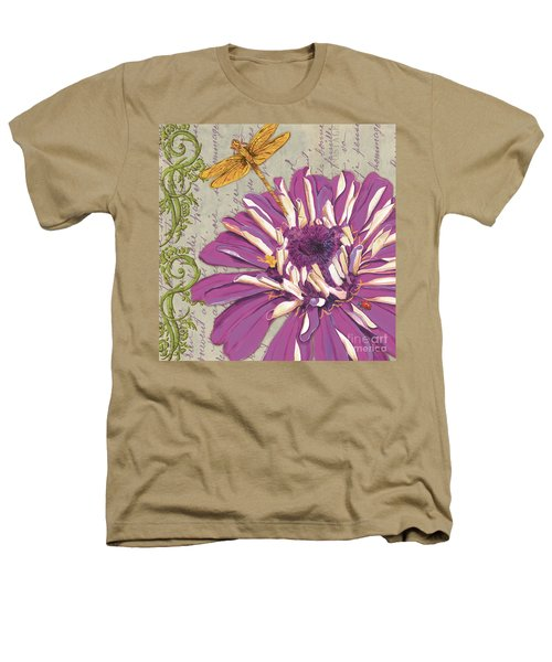 Moulin Floral 2 Heathers T-Shirt
