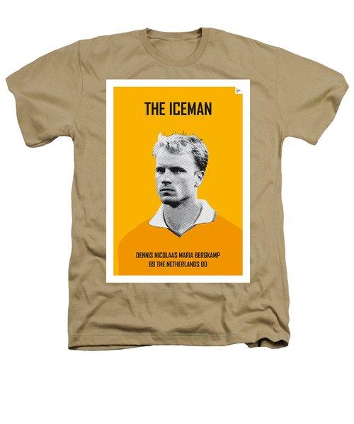 My Bergkamp Soccer Legend Poster Heathers T-Shirt by Chungkong Art