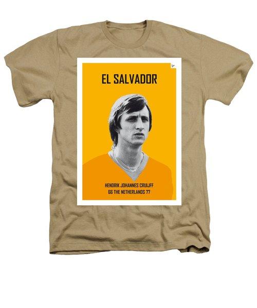 My Cruijff Soccer Legend Poster Heathers T-Shirt