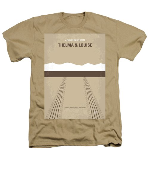 No189 My Thelma And Louise Minimal Movie Poster Heathers T-Shirt