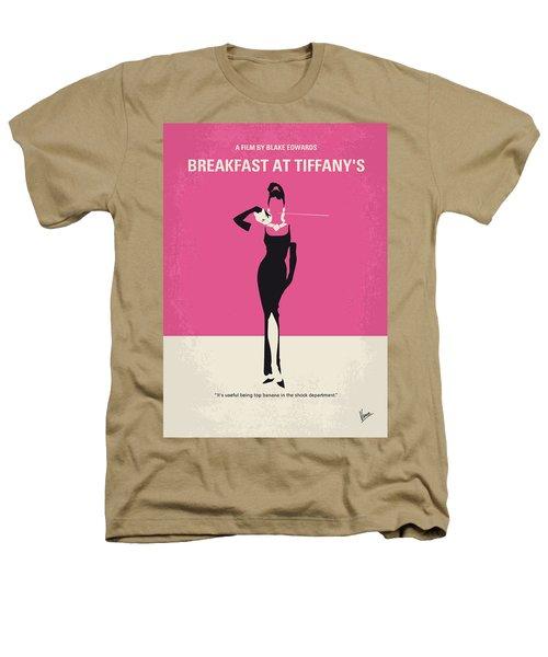 No204 My Breakfast At Tiffanys Minimal Movie Poster Heathers T-Shirt by Chungkong Art
