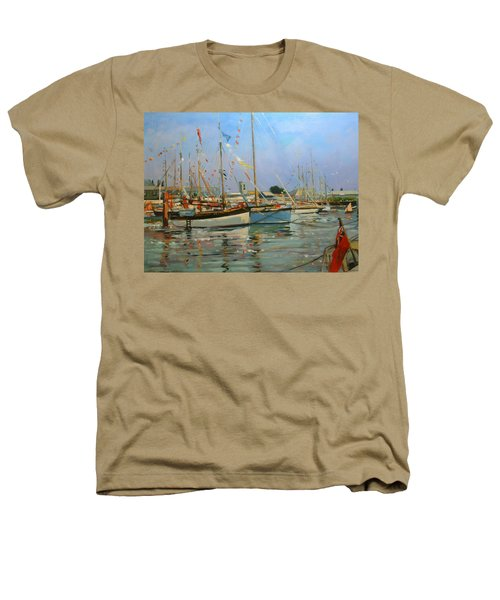 Old Gaffers  Yarmouth  Isle Of Wight Heathers T-Shirt