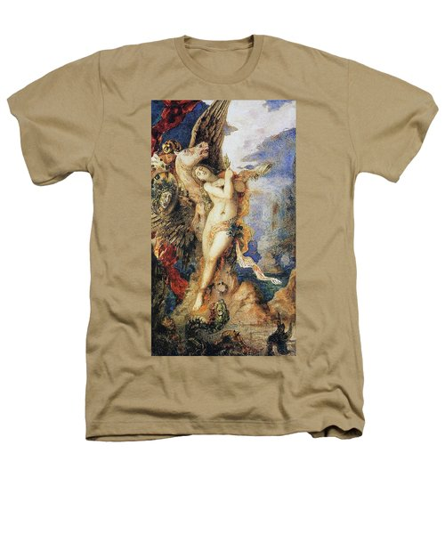 Perseus And Andromeda Heathers T-Shirt by Gustave Moreau
