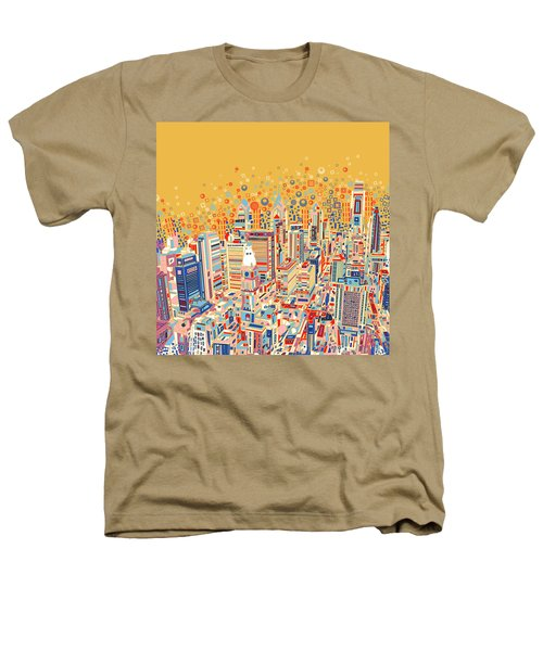 Philadelphia Panorama Pop Art Heathers T-Shirt