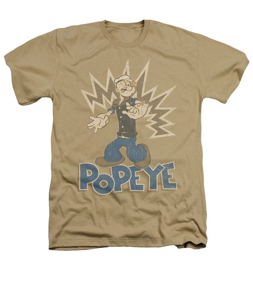 Popeye - Sailor Man Heathers T-Shirt