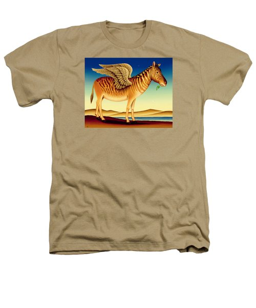 Quagga Heathers T-Shirt by Frances Broomfield
