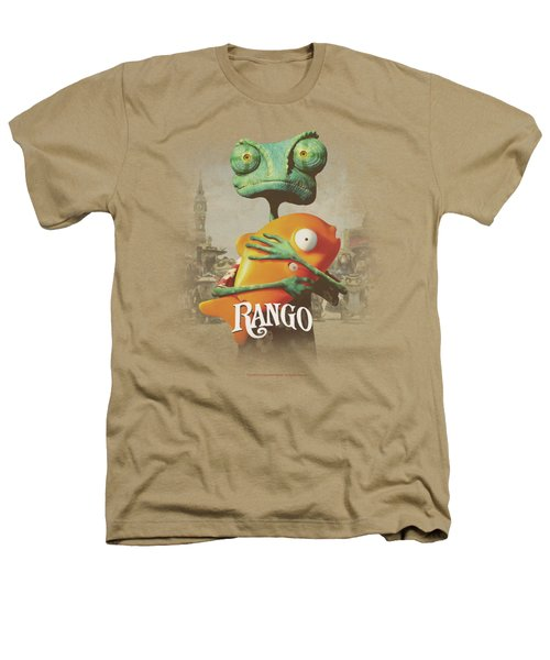 Rango - Poster Art Heathers T-Shirt by Brand A