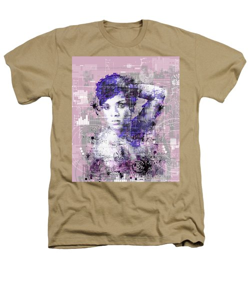Rihanna 3 Heathers T-Shirt by Bekim Art