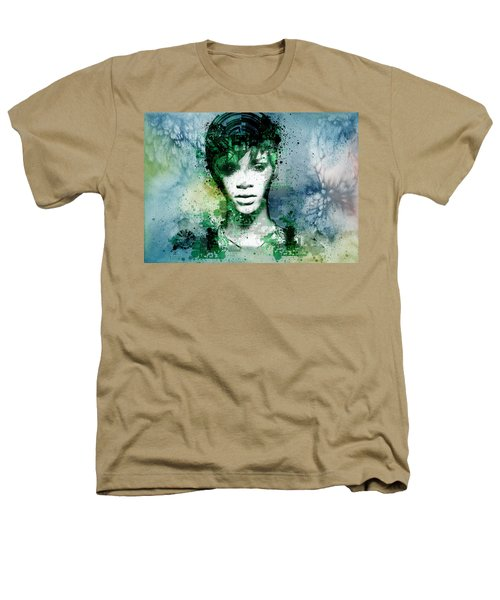 Rihanna 4 Heathers T-Shirt by Bekim Art