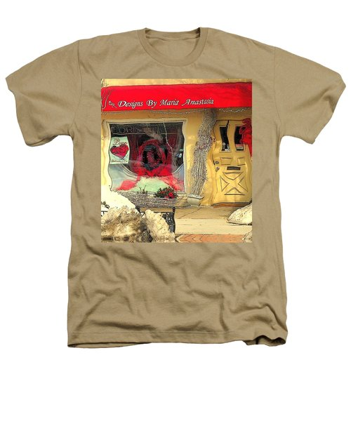 Rouge On The Rue Heathers T-Shirt by Tami Quigley