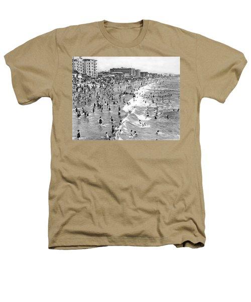 Santa Monica Beach In December Heathers T-Shirt