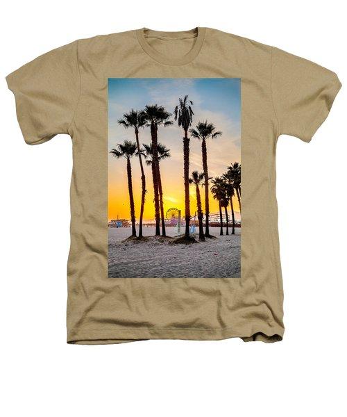 Santa Monica Palms Heathers T-Shirt