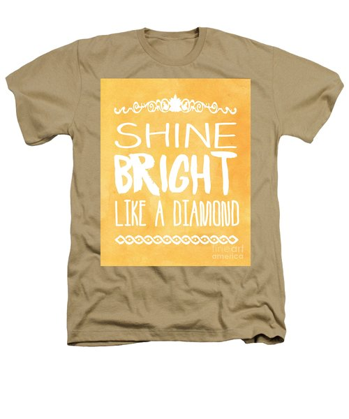 Shine Bright Orange Heathers T-Shirt by Pati Photography