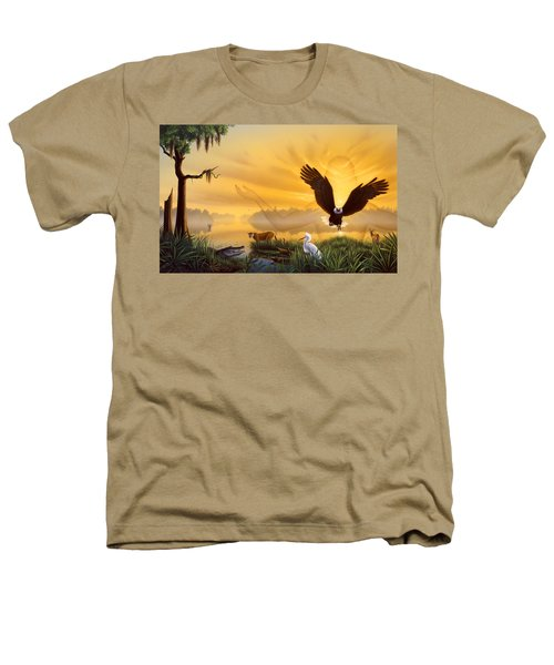 Spirit Of The Everglades Heathers T-Shirt