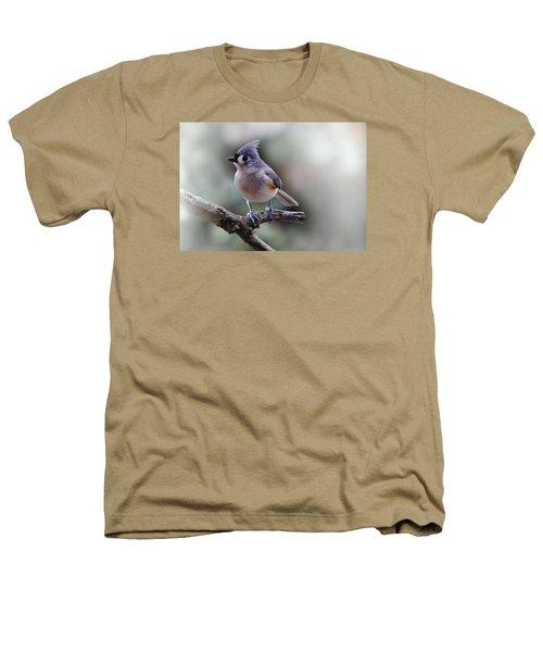 Sring Time Titmouse Heathers T-Shirt