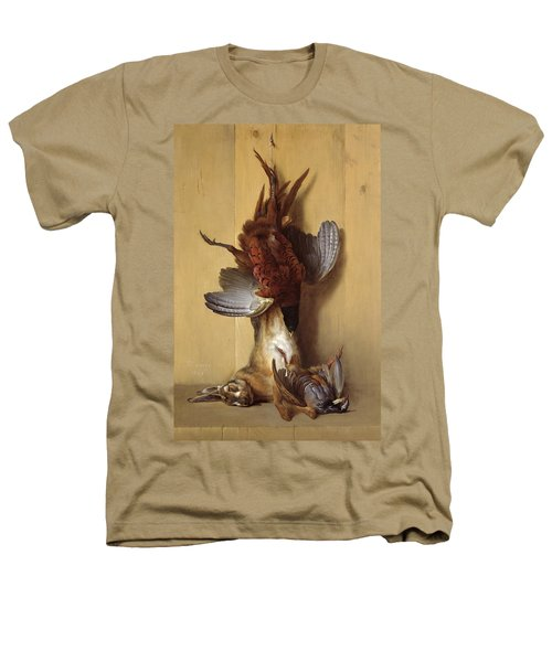 Still Life With A Hare, A Pheasant And A Red Partridge Heathers T-Shirt