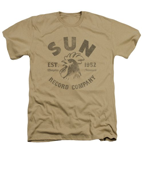Sun - Vintage Logo Heathers T-Shirt by Brand A