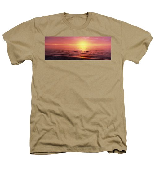 Sunset Over The Sea, Venice Beach Heathers T-Shirt by Panoramic Images