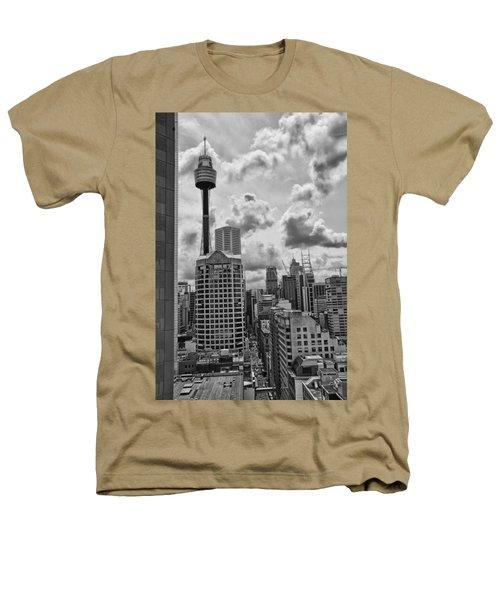 Sydney Skyline Heathers T-Shirt by Douglas Barnard