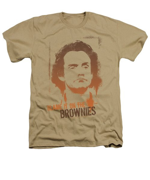 Taxi - Blame It On The Brownies Heathers T-Shirt