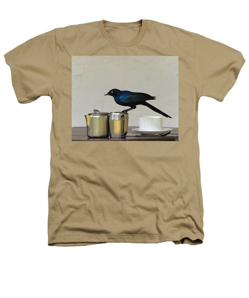Tea Time In Kenya Heathers T-Shirt by Tony Beck