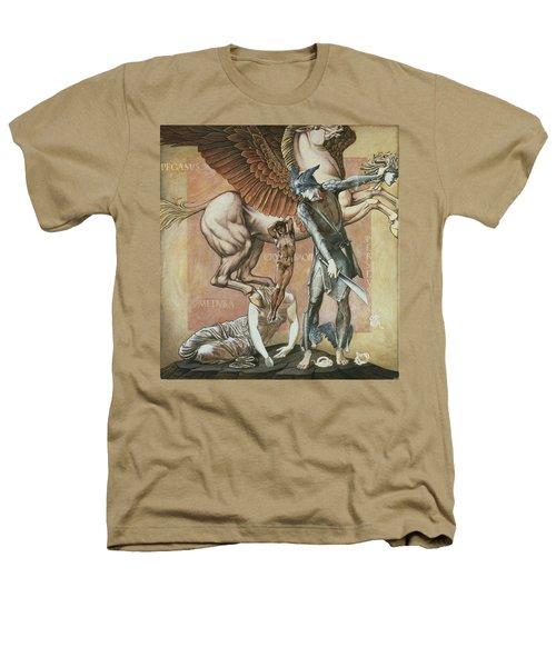 The Death Of Medusa I, C.1876 Heathers T-Shirt by Sir Edward Coley Burne-Jones