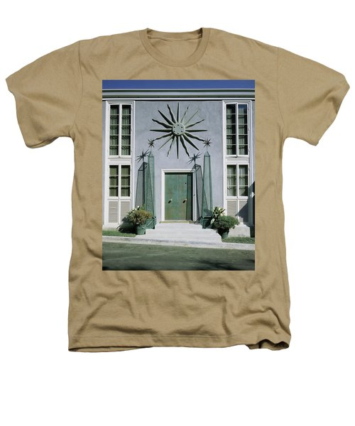 The Facade Of Tony Duquette's House Heathers T-Shirt