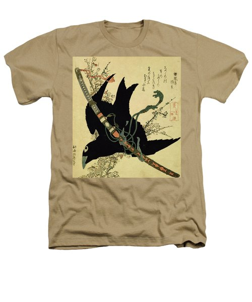 The Little Raven With The Minamoto Clan Sword Heathers T-Shirt