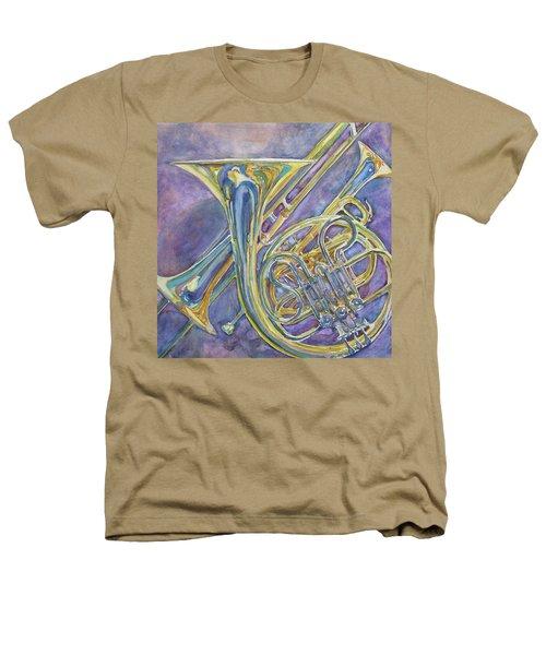 Three Horns Heathers T-Shirt by Jenny Armitage