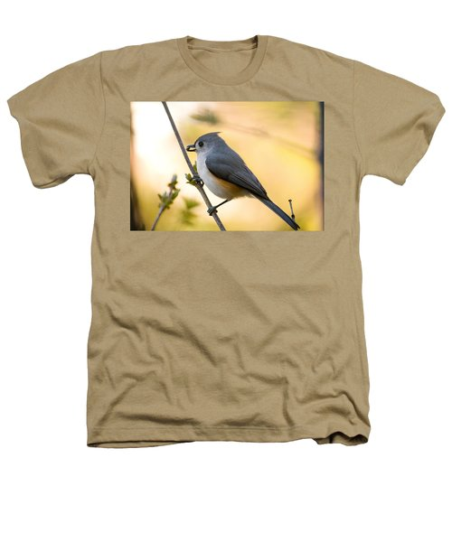 Titmouse In Gold Heathers T-Shirt