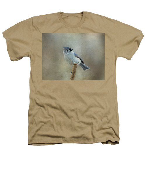 Tufted Titmouse Watching Heathers T-Shirt
