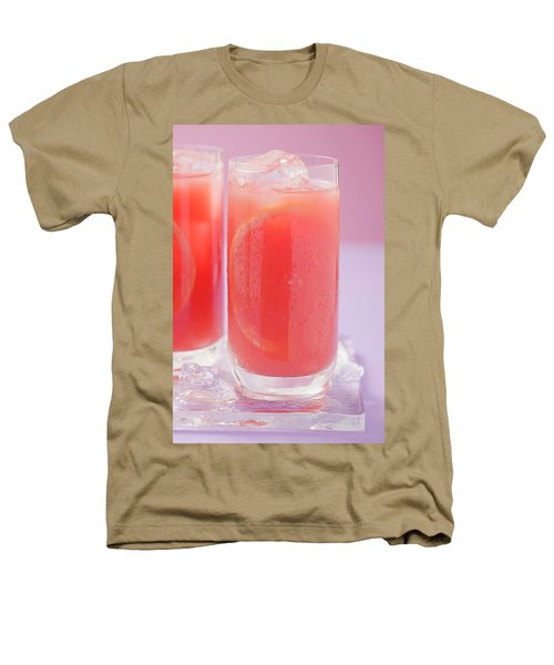 Two Glasses Of Pink Grapefruit Juice With Ice Cubes Heathers T-Shirt