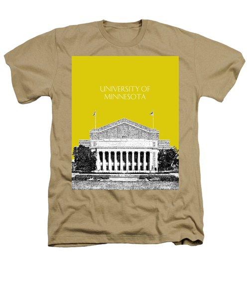 University Of Minnesota 2 - Northrop Auditorium - Mustard Yellow Heathers T-Shirt