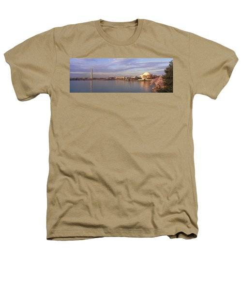 Usa, Washington Dc, Tidal Basin, Spring Heathers T-Shirt by Panoramic Images