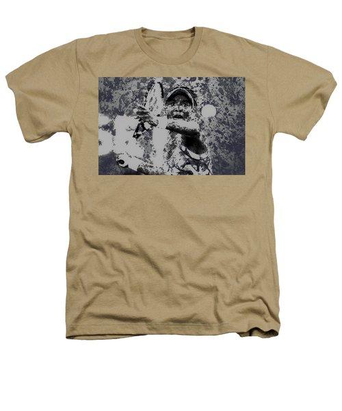 Venus Williams Paint Splatter 2e Heathers T-Shirt by Brian Reaves