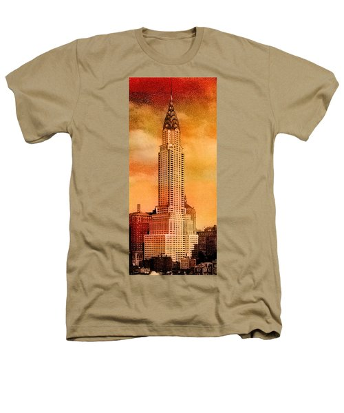 Vintage Chrysler Building Heathers T-Shirt