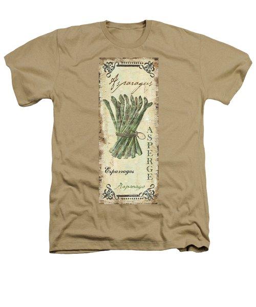Vintage Vegetables 1 Heathers T-Shirt by Debbie DeWitt