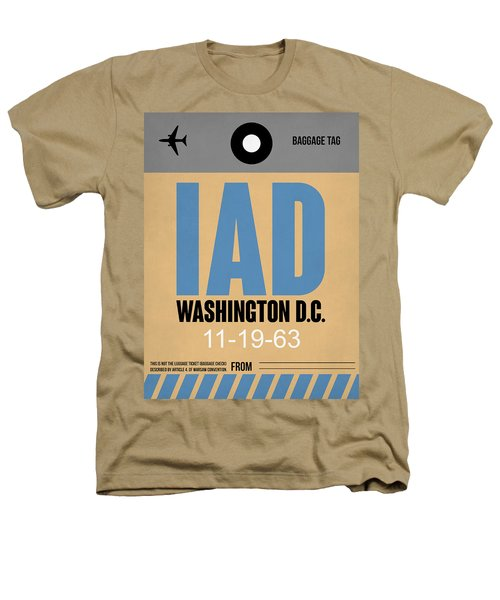Washington D.c. Airport Poster 3 Heathers T-Shirt by Naxart Studio