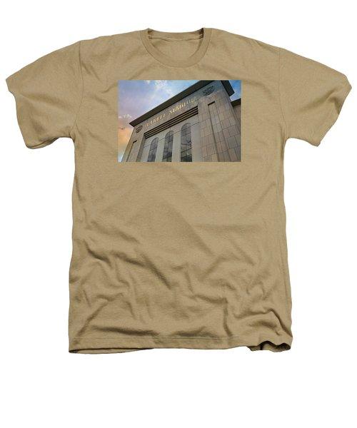 Yankee Stadium Heathers T-Shirt by Stephen Stookey