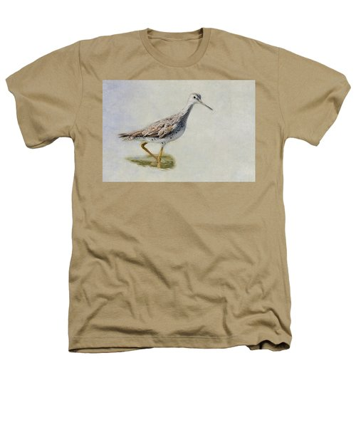 Yellowlegs Heathers T-Shirt by Bill Wakeley