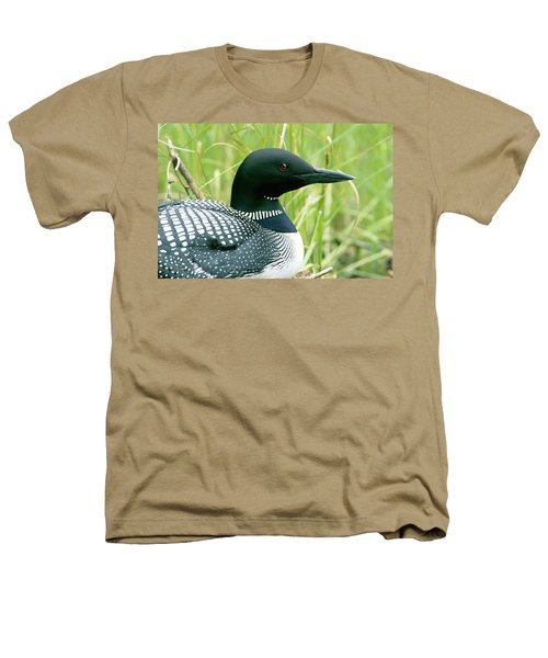 Common Loon, La Mauricie National Park Heathers T-Shirt
