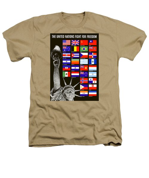 Allied Nations Fight For Freedom Heathers T-Shirt