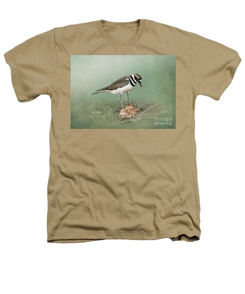 Killdeer And Worm Heathers T-Shirt