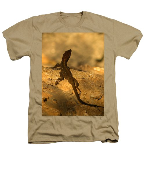 Leapin' Lizards Heathers T-Shirt by Trish Tritz