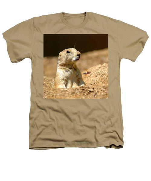 Prarie Dog Bee Alert Heathers T-Shirt