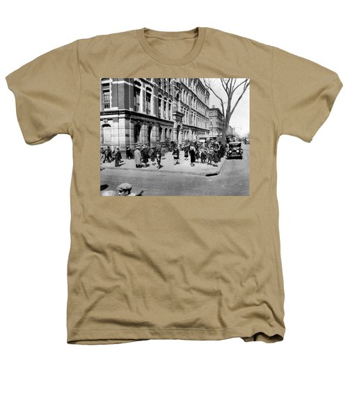 School's Out In Harlem Heathers T-Shirt by Underwood Archives