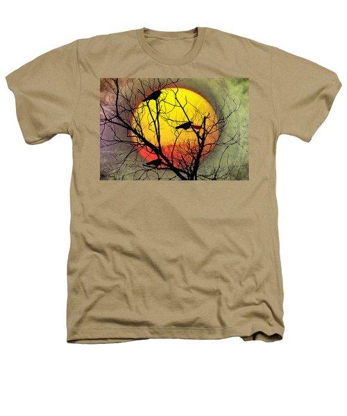 Three Blackbirds Heathers T-Shirt by Bill Cannon